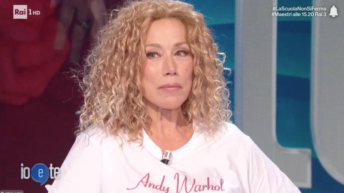 Nancy Brilli a Io e Te: «Non mi ha mai amato, ho una voragine...». Pierluigi Diaco si commuove