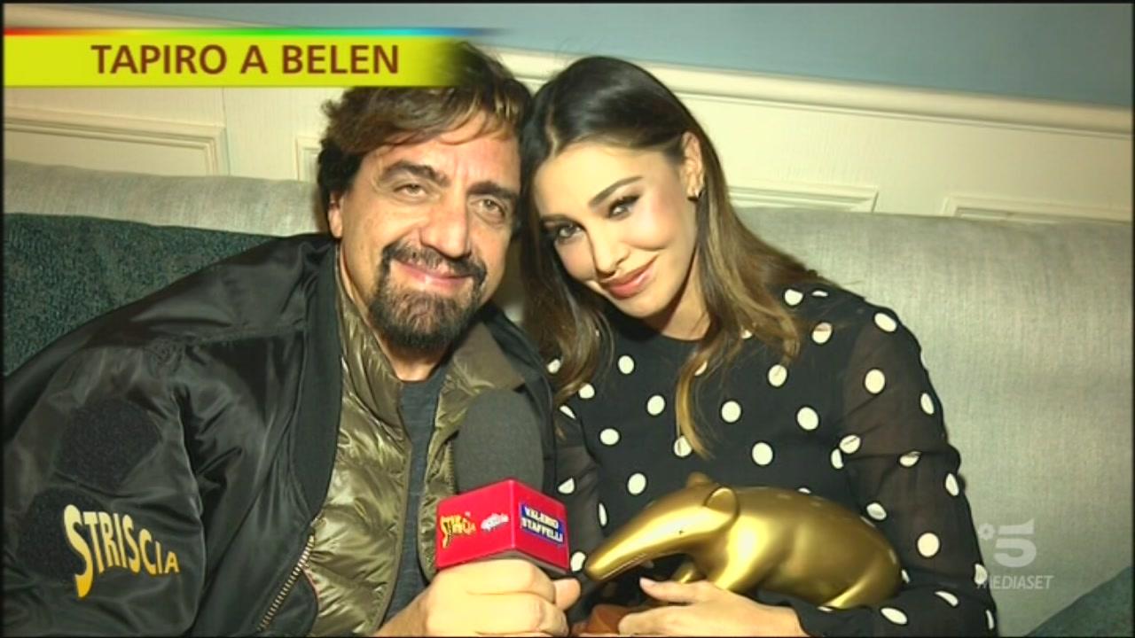 Belen Rodriguez, Tapiro d'oro per la festa a Milano senza mascherine: «Siamo andati via subito»