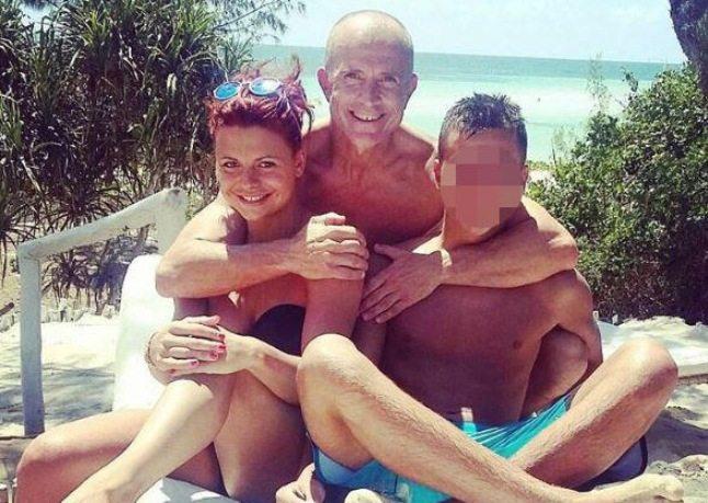 Giorgio Mastrota vacanza in Kenya con Natalia