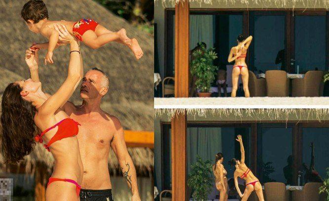 Ramazzotti, guarda che bikini Marica