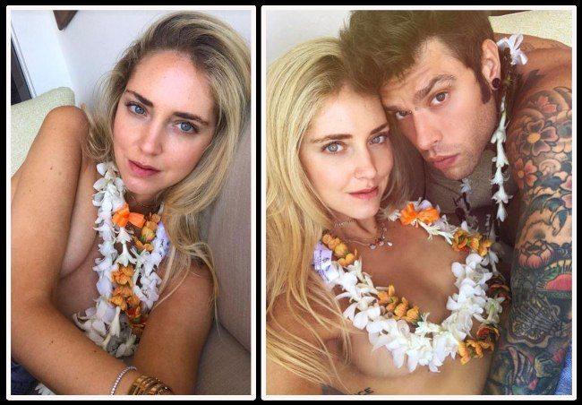 Chiara Ferragni: foto vacanze di coppia alle Hawaii con Fedez