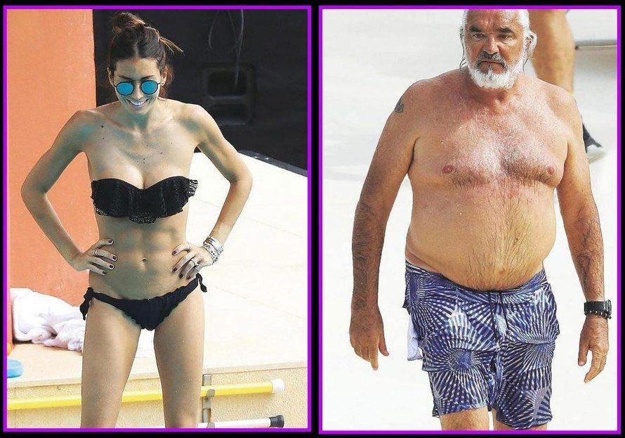 Elisabetta Gregoraci e Flavio Briatore, week end a Montecarlo ignorandosi amorevolmente
