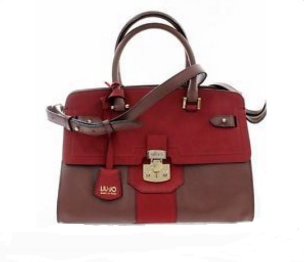 Borsa shopping Liu Jo Sac Rouge Soho colore Rosso a prezzo scontato!!! 7a72ec6372d