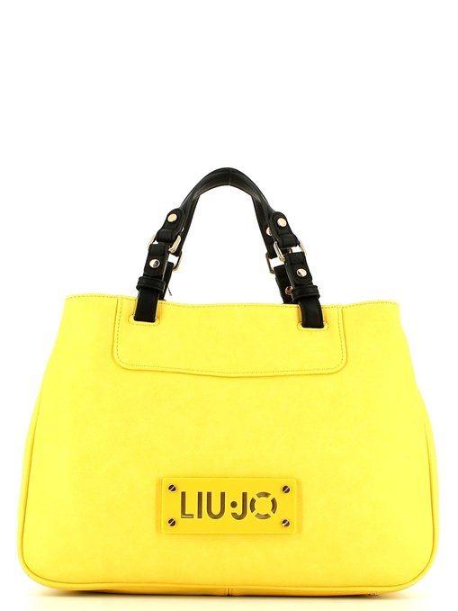 Borsa Liu Jo Shopping Dia gialla a prezzo scontato! 1794a7f1b8e
