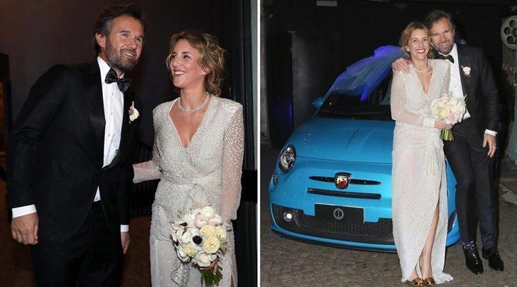 Lapo testimone dona a Cracco per le nozze la sua Abarth 500 realizzata da Garage Italia
