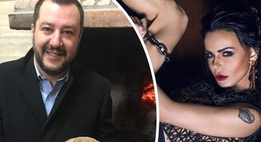 Salvini chiede un rimedio per il raffreddore, Nina Moric risponde così ed è boom di polemiche