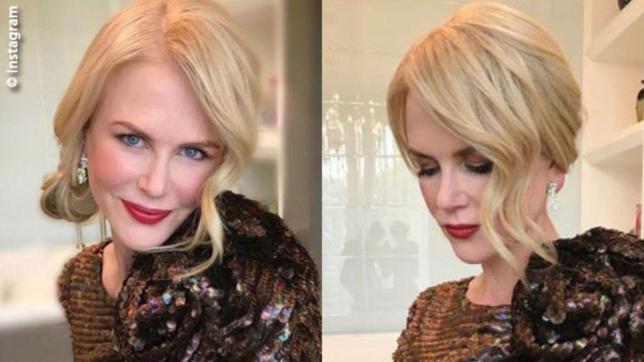 Il segreto dell'acconciatura di Nicole Kidman