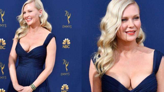 Kirsten Dunst, mamma esplosiva agli Emmy