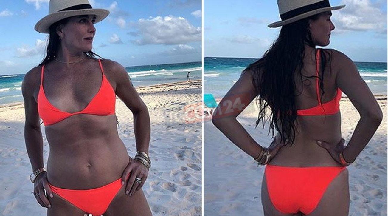 Brooke Shields, bellezza immutata a 40 anni da