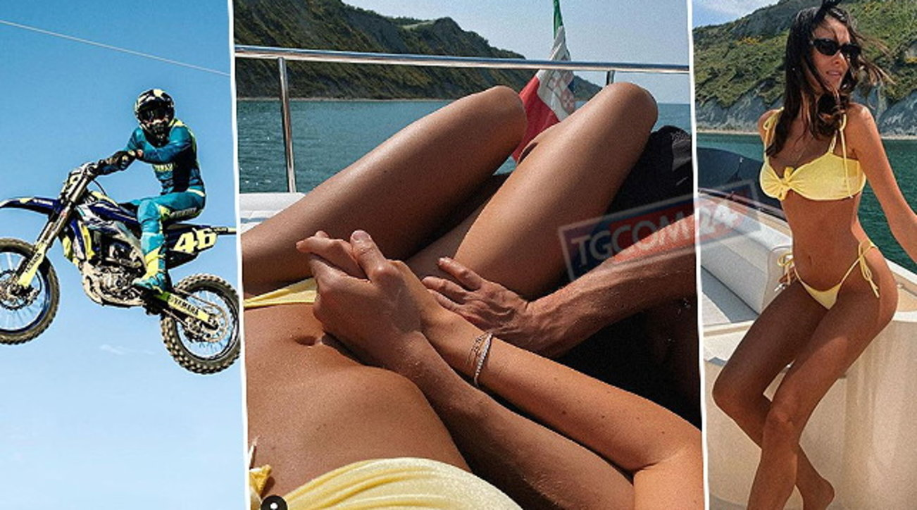 Valentino Rossi prende il largo: amore tra le onde con Francesca