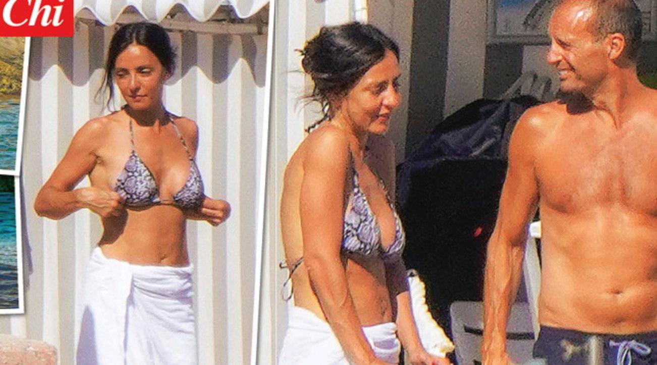 Ambra Angiolini e Max Allegri, amore a Monte Carlo