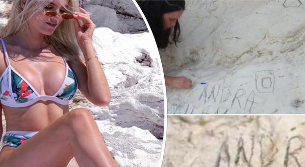Influencer deturpa la scogliera patrimonio dell'umanità per le foto su Instagram: volontari corrono a ripulire