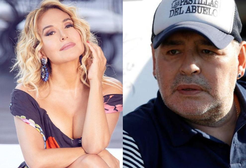 Morto Maradona. Barbara D'Urso si commuove in diretta: «Ho chiamato il figlio Diego Armando Jr, ma è ricoverato per Covid»