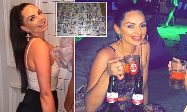 Contrabbandava denaro sporco a Dubai: arrestata la sosia di Kim Kardashian con 5 milioni di sterline nella valigia