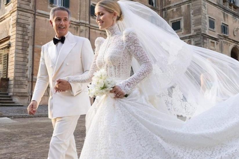 Kitty Spencer, la nipote di Lady Diana sposa un magnate 62enne in Italia: nozze da fiaba
