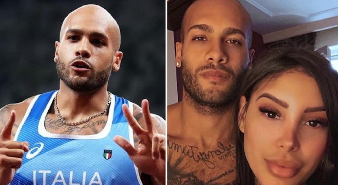 Jacobs, la compagna romana Nicole Daza e i tre figli: la famiglia del campione olimpico di Tokyo 2020