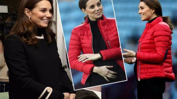 Kate Middleton, guarda come cresce il pancione