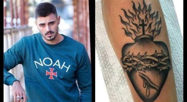 Francesco Monte si fa un nuovo tatuaggio. Si tratta di un messaggio per Cecilia?