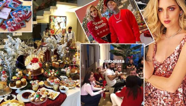 Il Natalino dei Ferragnez: dolci e balocchi in casa a Milano