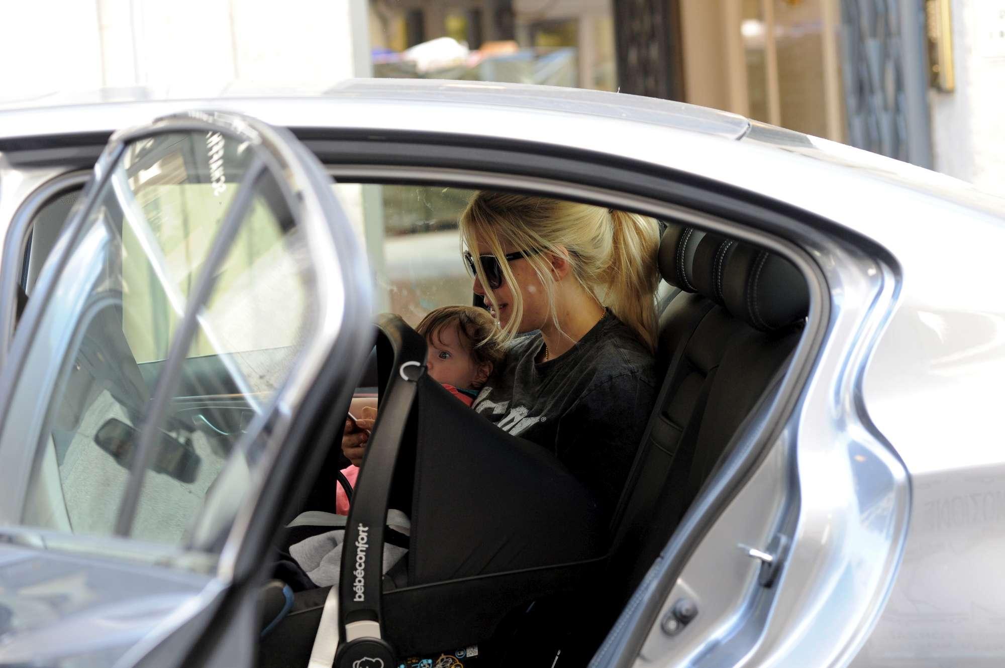 Icardi e Wanda sempre in pista: 800mila euro di auto
