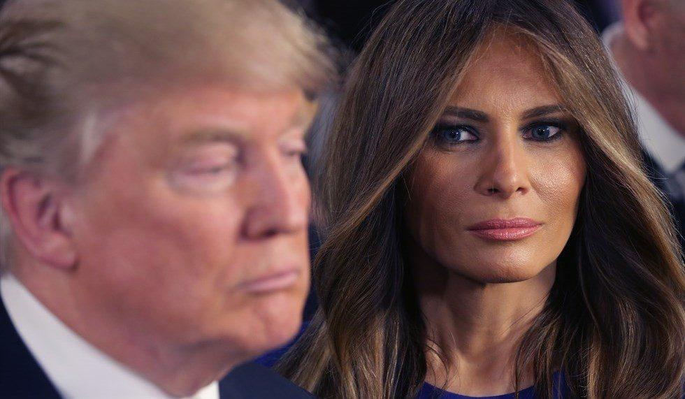 Melania Trump e Donald, letti separati alla Casa Bianca