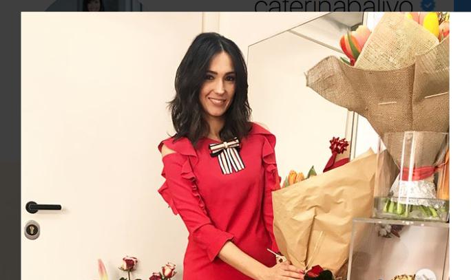 Caterina Balivo, compleanno in festa tra fiori e sorprese