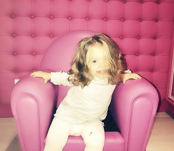 """""""Buon compleanno vita mia�, Totti festeggia su Instagram i due anni di Isabel"""