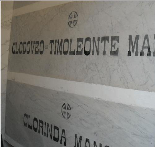A casa CLODOVEO TIMOLEONTE!