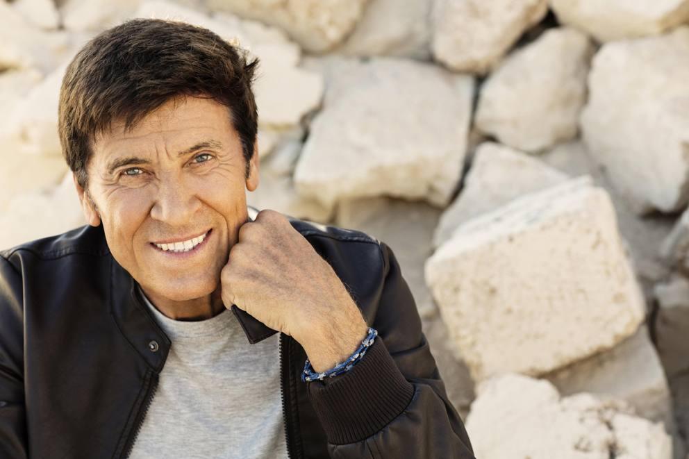 Gianni Morandi festeggia 73 anni con