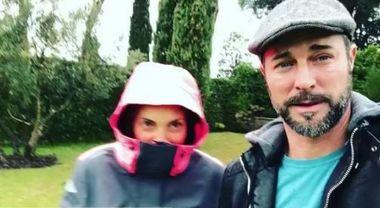 Alessia Mancini prontissima per L'Isola dei Famosi, su Instagram l'allenamento con il marito