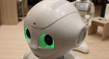 Primo robot licenziato: Fabio lavorava in un supermercato