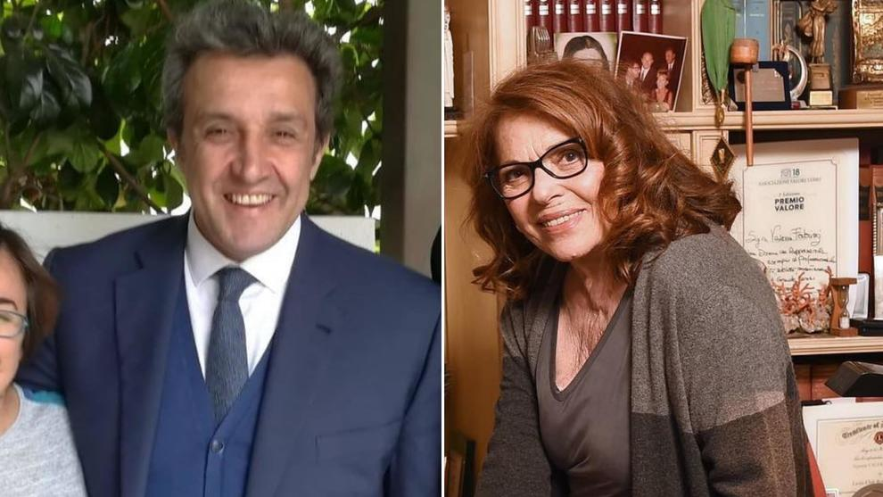 Valeria Fabrizi con Flavio Insinna a Domenica In: «Smisi di lavorare per 16 anni dopo aver perso mio figlio a tre mesi»
