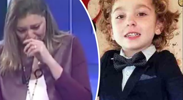 Diego muore a tre anni, la giornalista Rai non trattiene l'emozione e si commuove in diretta