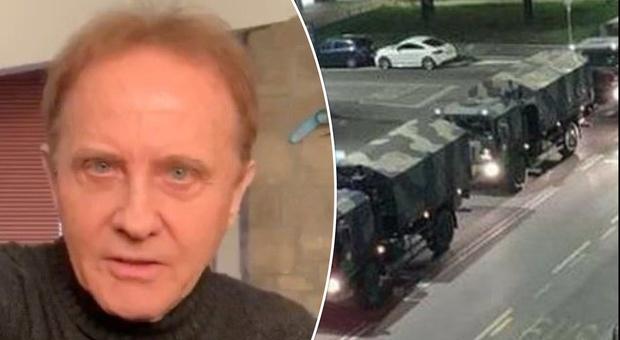 Coronavirus a Bergamo, Roby Facchinetti a Domenica In: «Su quei camion c'era un mio parente»