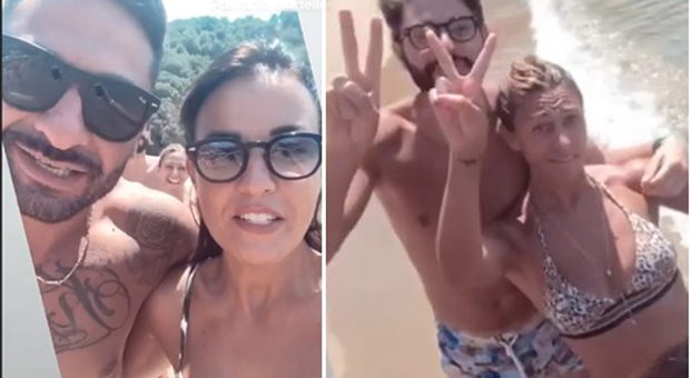 Temptation Island: Anna Boschetti e Andrea Battistelli in vacanza con Antonio Martello e Annamaria Laino.