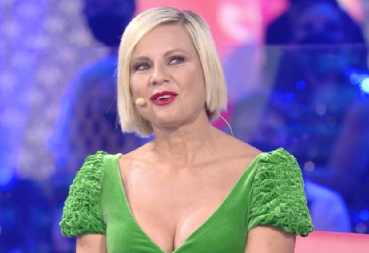 Antonella Elia, l'addio a Pietro Delle Piane in diretta al GFVip. Lui