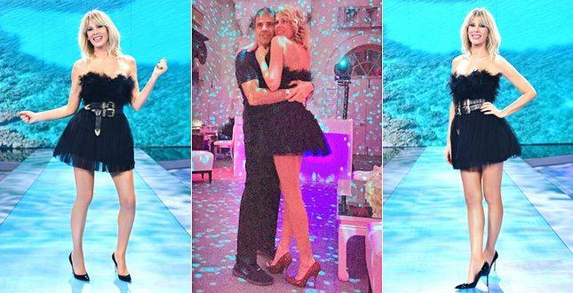 Alessia Marcuzzi, che gaffe: all'Isola dei Famosi si presenta con lo stesso vestito… del matrimonio!