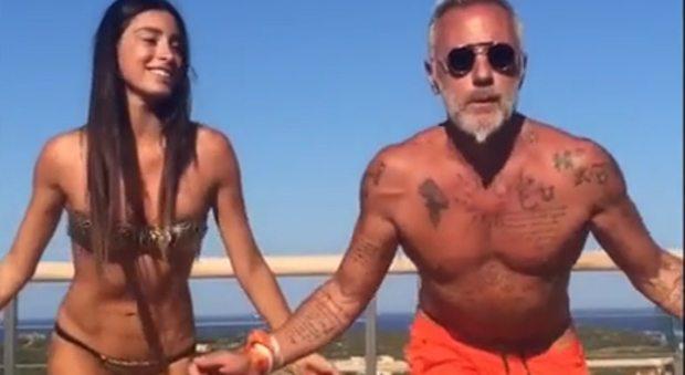 Gianluca Vacchi lascia la Miss e torna con la ex Giorgia Gabriele