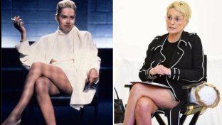 """Sharon Stone è tornata e se accavalla le gambe, l'effetto è da """"Basic Instinct"""""""