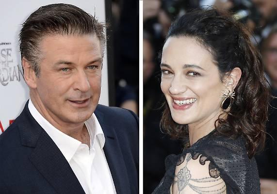 Caso Weinstein, Alec Baldwin litiga con Asia Argento su Twitter