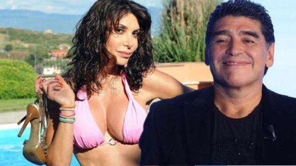 """Carmen Di Pietro rivela: """"Ho avuto una storia con Maradona 26 anni fa"""""""