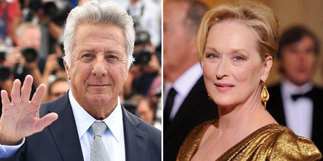 "Meryl Strepp accusò Dustin Hoffman: ""Maiale, mi ha messo una mano su..."""