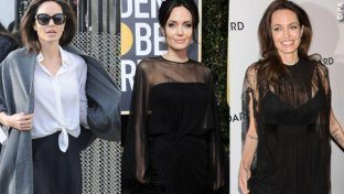 Angelina Jolie fa la diva col made in Italy
