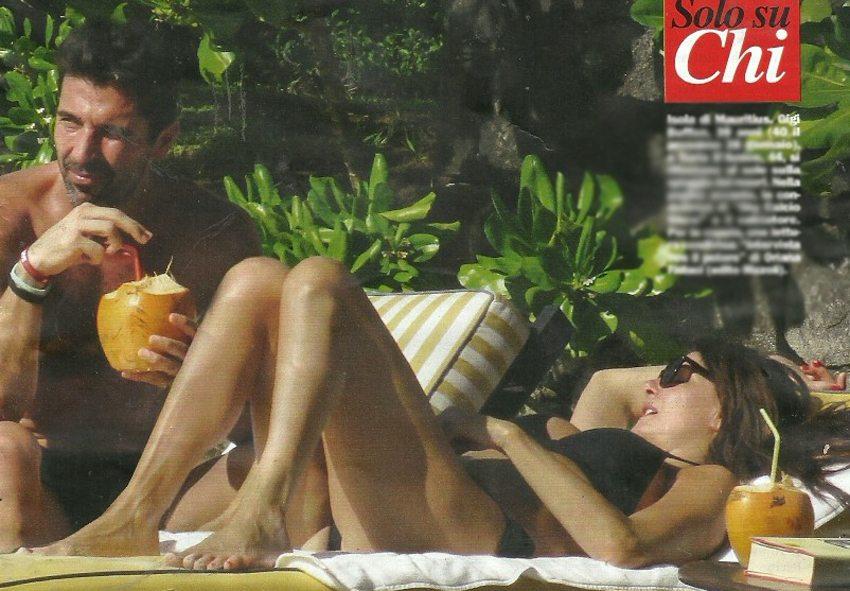 Ilaria D'Amico e Gigi Buffon, relax alle Mauritius in attese della nozze