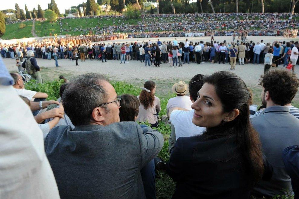 Andrea Severini e Virginia Raggi di nuovo insieme: