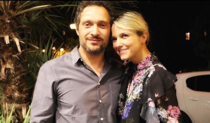 Claudio Santamaria e Francesca Barra voglia di famiglia: tenero papà con la piccola Greta