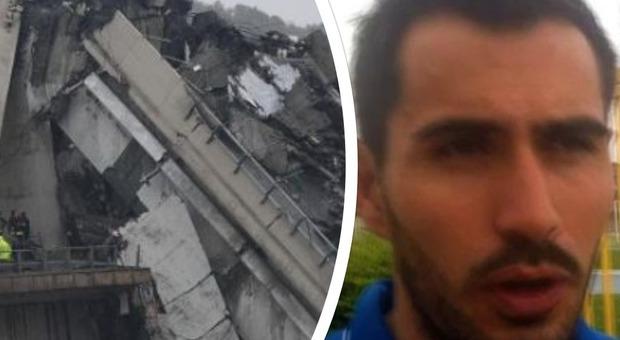 Ponte crollato a Genova, il portiere Davide Capello illeso dopo 80 metri di volo