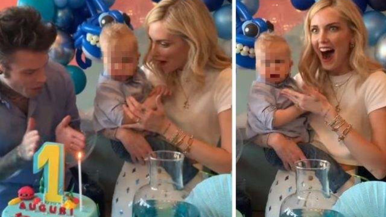 Chiara Ferragni e Fedez, la festa per il primo compleanno del figlio Leone a tema baby shark