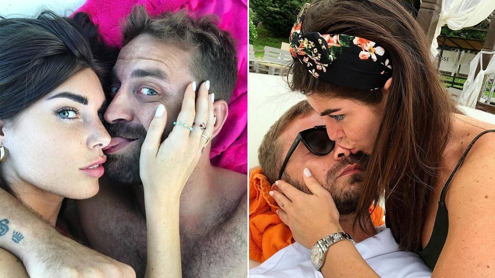 Bianca Atzei e Stefano Corti non si nascondono più: «Mi ha rubato il cuore»