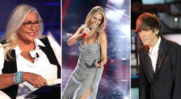 Imbarazzo a Domenica In, gaffe di Mara Venier su Irene Grandi: Bugo senza parole